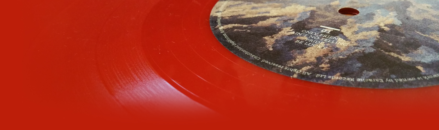 The Temperance Movement red vinyl